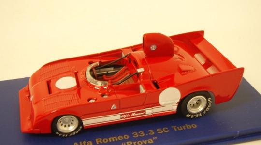 Alfa Romeo 33 3 sc turbo prova M4 1:43 M4007007