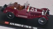 Alfa Romeo 6c 1750 gs mille miglia Starline 1:43 Hachette-AR-6C [Blister]