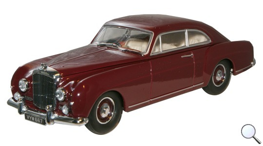 Bentley S1 Continental Fastback Oxford Diecast 1:43 BCF005