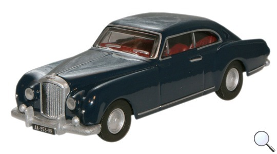 Bentley S1 Continental Fastback Oxford Diecast 1:76 76BCF002