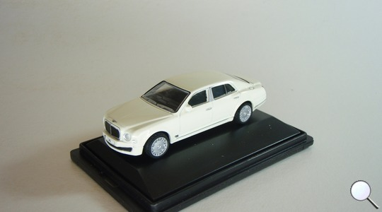 Bentley Mulsanne Oxford Diecast 1:76 76BM001