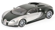 Bugatti Veyron edition centenaire chrome green Minichamps 1:18 100110852