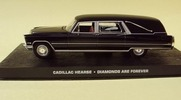 Cadillac Hearse Diamonsds are Forever 007 Eaglemoss Collections 1:43 Eaglemoss-00088