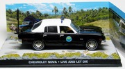 Chevrolet Nova III police James Bond Live and let die Eaglemoss Collections 1:43 Eaglemoss-00043