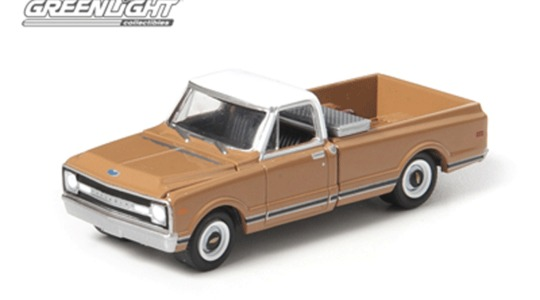 Chevrolet C-10 (county roads series 7) Greenlight Collectibles 1:64 gl29730-1 [Blister]