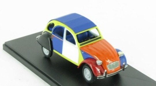 Citroen 2CV dessais couleurs Auto Plus Eligor 1:43 [Blister]