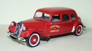 Citroen Traction 11 Familiale des pompiers Universal Hobbies 1:43 Atlas-00001 [Blister]