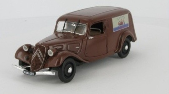 Citroen Traction 11 BL Fourgonnette (Atlas) Universal Hobbies 1:43 UH-T11-FOURGO37 [Blister]