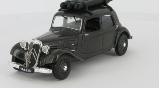 Citroen Traction 11 Legere Gazogene (Atlas) Universal Hobbies 1:43 UH-T11-LEGERE41 [Blister]