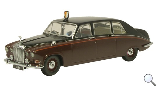 Daimler DS 420 Limousine (Queen Mum) Oxford Diecast 1:43 DS004