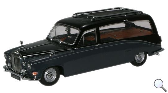 Daimler DS 420 Hearse Oxford Diecast 1:43 DS008