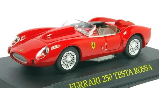 Ferrari 250 Testa Rossa Revista-Magazine 1:43 Mag-Fer250Testa