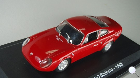 Fiat Abarth 1000 bialbero Hachette 1:43
