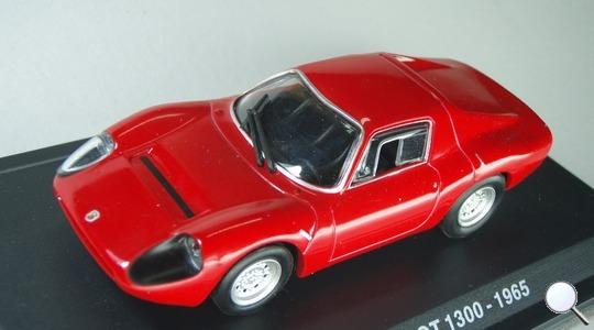 Fiat Abarth ot 1300 Hachette 1:43