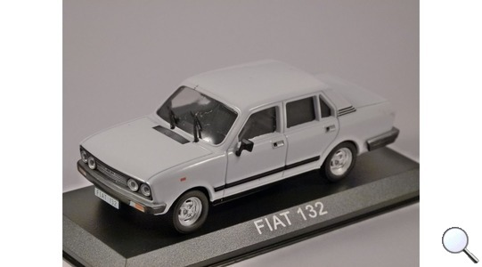 Fiat 132 (Seat 132) Revista-Magazine 1:43 FIAT132 [Blister]