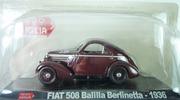 Fiat 508 balilla berlinetta mille miglia Starline 1:43 HachetteFiat508 [Blister]