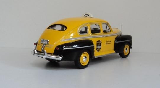 Ford Fordor taxi New York Altaya 1:43 Altaya-taxi0001