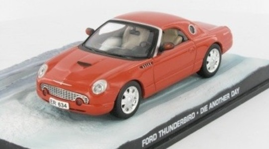 Ford Thunderbird XI James Bond Die another day Eaglemoss Collections 1:43 Eaglemoss-00027
