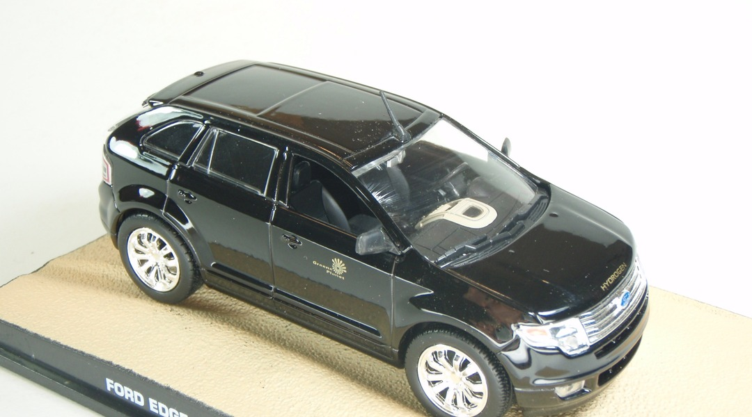 Ford Edge Quantum Of Solace  Eaglemoss Collections Eaglemoss  E Segunda Mano Perfecto Estado Caja Danada