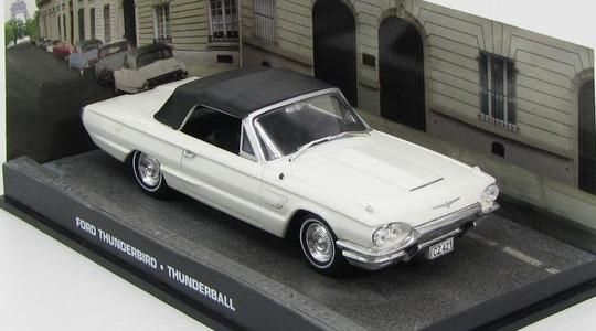 Ford Thunderbird IV James Bond Thunderball Eaglemoss Collections 1:43 Eaglemoss-00111
