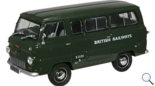 Ford Thames 400E British Railways Minibus Oxford Diecast 1:43 FDE002