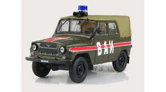 Gaz 469 Military Traffic Police DeAgostini 1:43 DeAgostini-469 [Blister]
