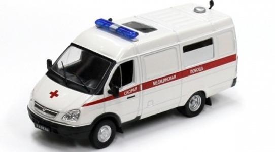 Gaz Gazelle Ambulance 32214 DeAgostini 1:43 DeAgostini32214 [Blister]