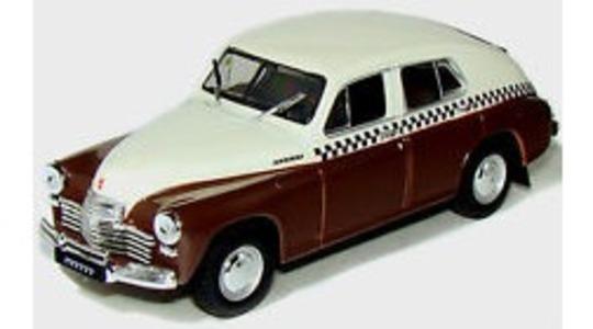 Gaz Volga m20 pobieda taxi ussr Revista-Magazine 1:43 [Blister]