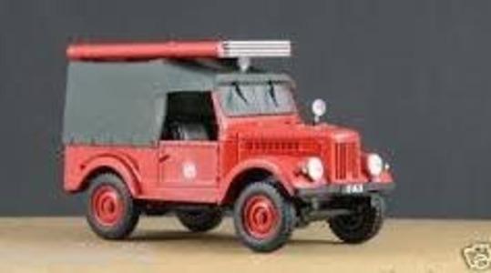 Gaz 20 fire brigade ussr Revista-Magazine 1:43 [Blister]