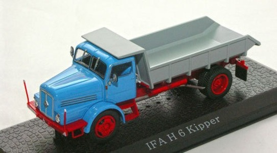 Ifa H6 kipper truck Editions ATLAS 1:43 IFA-H-6-KIPPER [Blister]