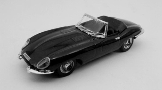Jaguar E SPIDER Best Models 1:43 BEST9027-2R