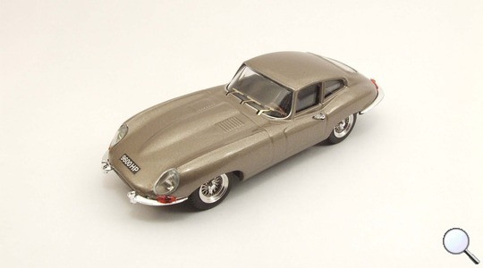 Jaguar E COUPE Ginevra Bronzo Best Models 1:43 BEST9436