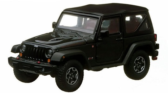 Jeep Wrangler (JK) Rubicon 10th anniversary Greenlight Collectibles 1:43 GREENLIGHT86051
