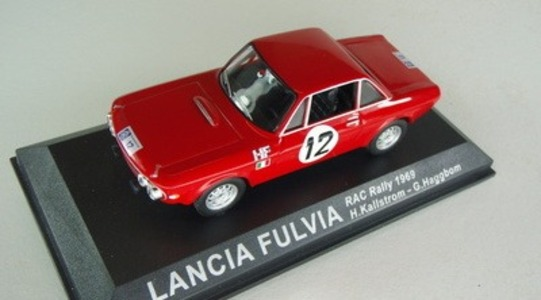 Lancia Fulvia RAC Rally Altaya 1:43 [Segunda mano, Blister]