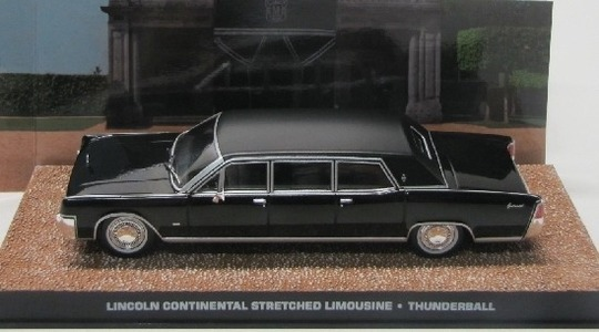Lincoln Continental Mark IV stretched limousine James Bond Thunderball Eaglemoss Collections 1:43 Eaglemoss-00119