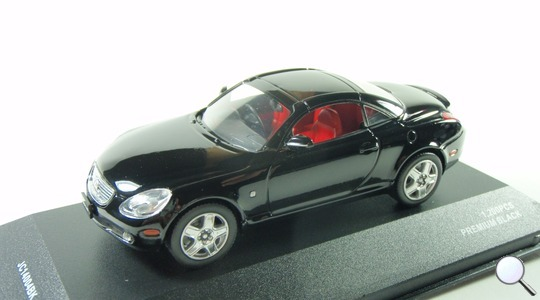 Lexus SC 430 (Z40) J-Collection 1:43 jc14004bk