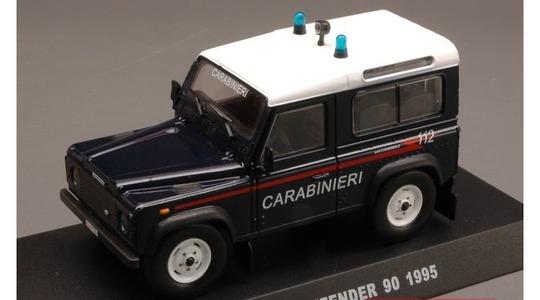 Land Rover Defender 90 carabinieri DeAgostini 1:43 [Blister]