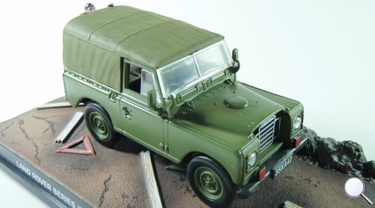 Land Rover Series I 88 James Bond the living daylights Eaglemoss Collections 1:43 Eaglemoss-00067