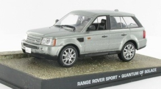 Range Rover Range Rover III (L322) Sport James Bond Quantum of Solace Eaglemoss Collections 1:43 Eaglemoss-00079
