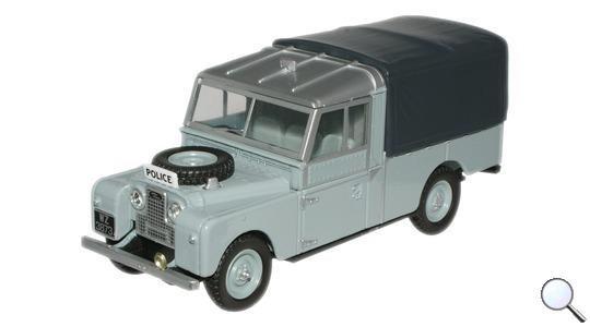 Land Rover Series I 109 Canvas Oxford Diecast 1:43 LAN1109006