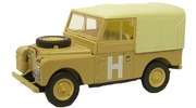 Land Rover Series I Sand-Military Oxford Diecast 1:43 LAN188002