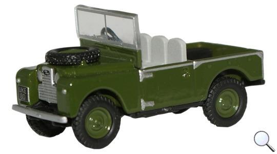 Land Rover Series I 80 Oxford Diecast 1:76 76LAN188003