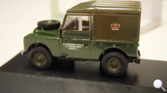 Land Rover Series I 80 Post Office Telephones Oxford Diecast 1:76 76LAN188006