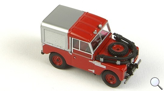 Land Rover Series I 88 Oxford Diecast 1:76 76LAN188012