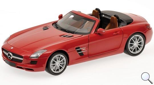 Mercedes-Benz SLS AMG Roadster (R197) Minichamps 1:18 100039030