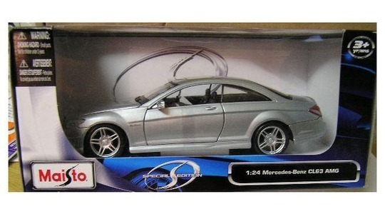 Mercedes-Benz CL (C216) 63 AMG(Special Edition) Maisto 1:24 31297