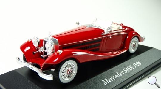 Mercedes-Benz 540k IXO MODELS 1:43 IXO-MB540K