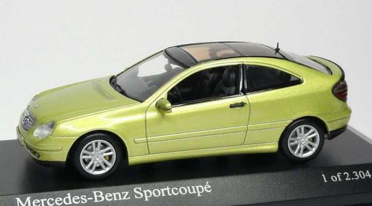 Mercedes-Benz C-Class Sportcoupe (CL203) Minichamps 1:43 430030001