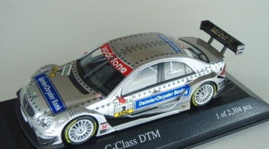 Mercedes-Benz C-class DTM Minichamps 1:43 [Segunda mano, Caja original]