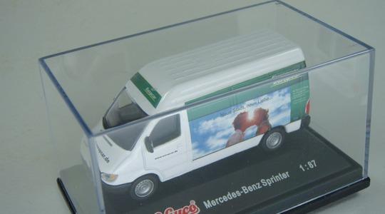 Mercedes-Benz Sprinter Europcar Schuco 1:87 [Segunda mano, perfecto estado, Caja original]